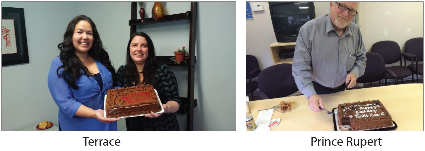Muks staff cake