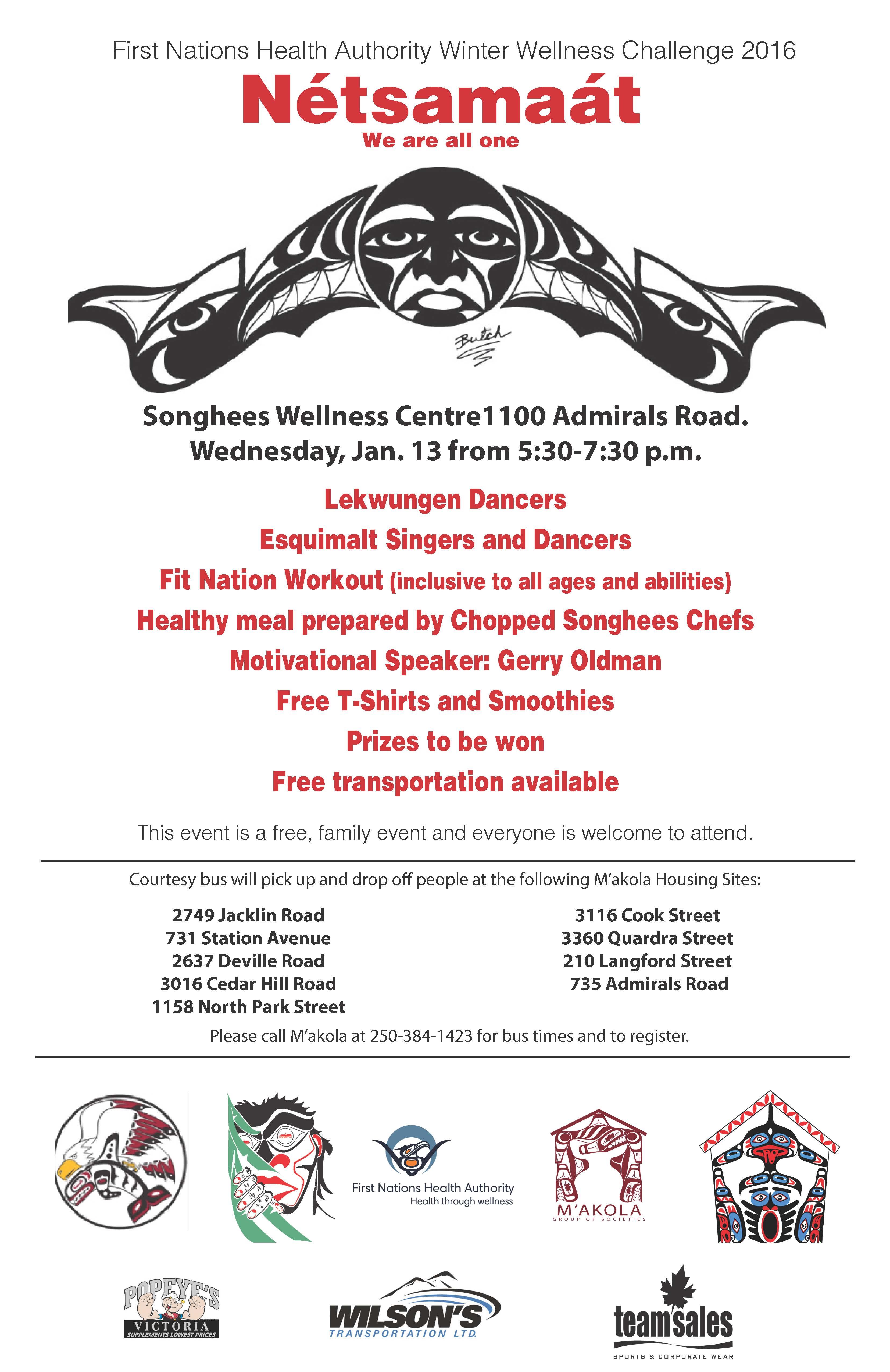 Wellness Event Poster 2016
